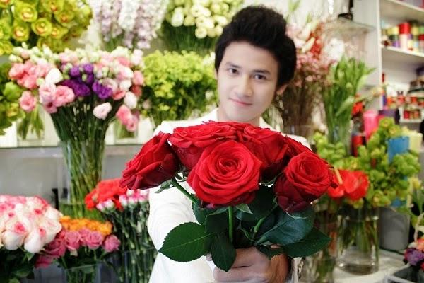 cửa hàng hoa tươi trực tuyến tại Sài Gòn