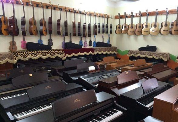 Top 10 cửa hàng nhạc cụ nổi tiếng tại Hà Nội