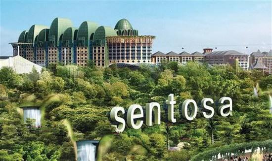 Thăm quan đảo Sentosa