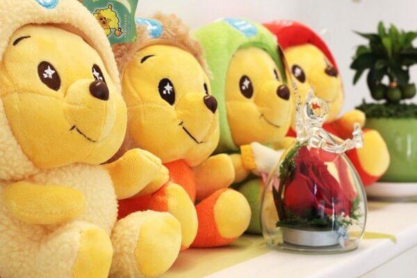 Gấu bông-món quà 20-10 ý nghĩa