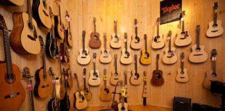 cửa hàng bán đàn Guitar ở tphcm
