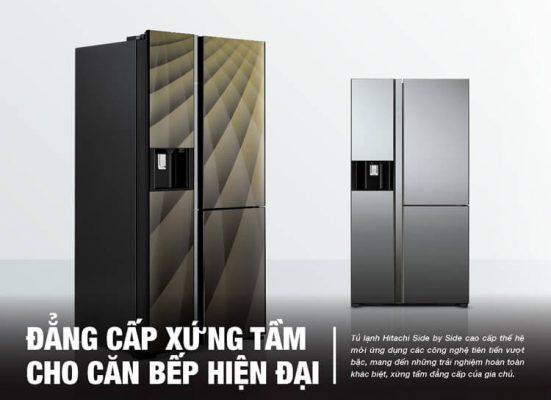 HITACHI R-M700AGPGV4X - Top 10 tủ lạnh đắt nhất hiện nay