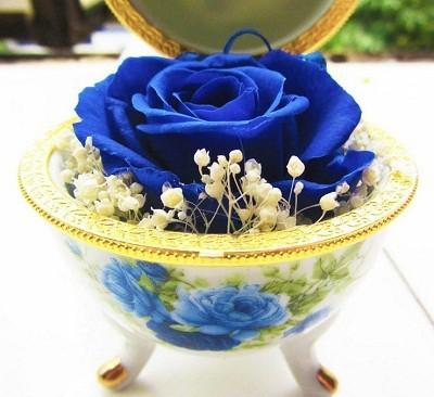 Hoa hồng hộp trứng của shop quà Panda