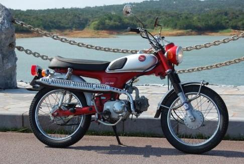 Honda Scrambler CL50
