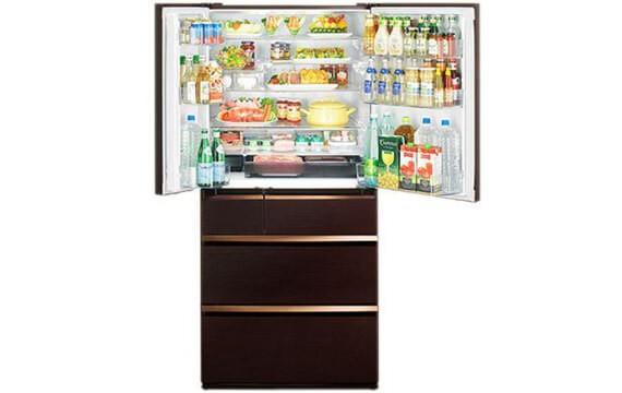 Mitsubishi Electric MR-WX71Y-BR-V (6 cửa) - Tủ lạnh đắt nhất hiện nay