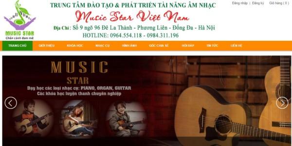 Trung tâm đào tạo âm nhạc Music Star