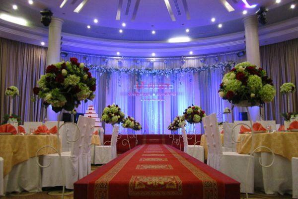 Quang cảnh trong nhà hàng tiệc cưới For You Palace