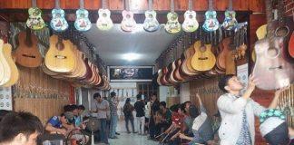 cửa hàng bán nhạc cụ ở Cần Thơ