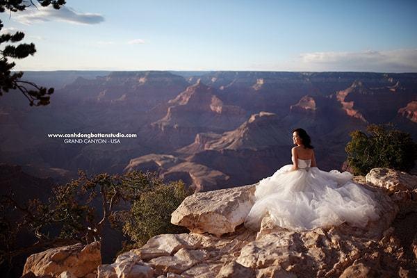 ảnh cưới được thực hiện ở Mỹ