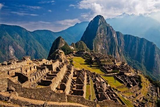 Pháo đài Machu Picchu