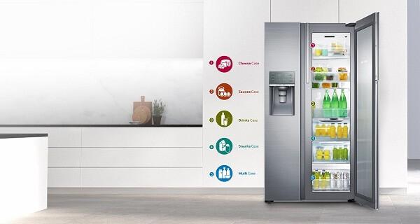 SAMSUNG RH57J90407F - Top 10 tủ lạnh đắt nhất hiện nay