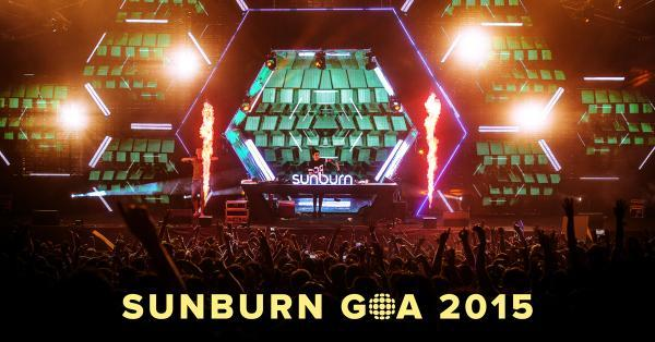 sunburn-goa