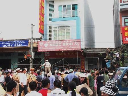 Thảm sát cướp vàng ở Bắc Giang
