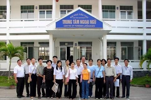 Trung tâm Ngoại ngữ Đại học Cần Thơ