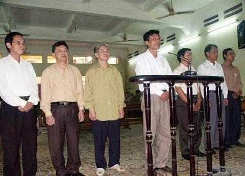 Các bị can trong vụ chia chác đất công ở Đồ Sơn, Hải Phòng