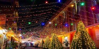 Những khu xóm đạo rực rỡ ánh đèn trong đêm Noel