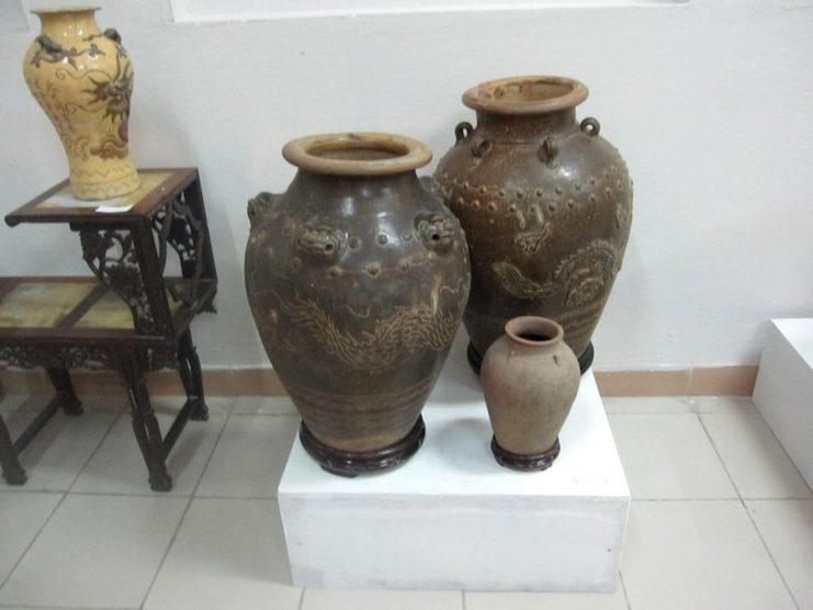 Thương Hiệu Gốm Gò Sành - gốm Chăm cổ Bình Định