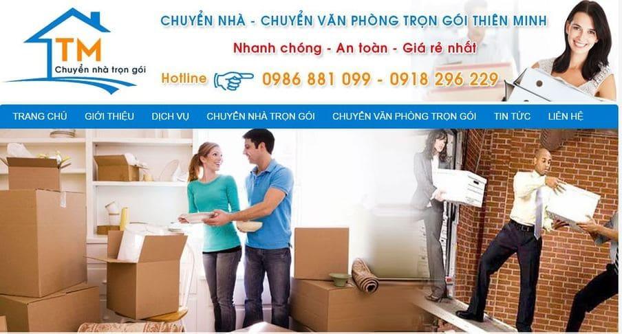 Dịch vụ chuyển nhà trọn gói Thiên Minh