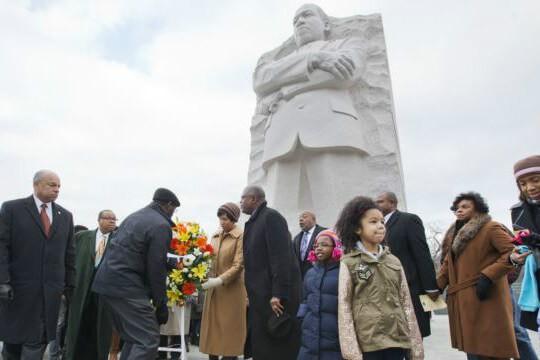 Đài tưởng niệm mục sư Martin Luther King