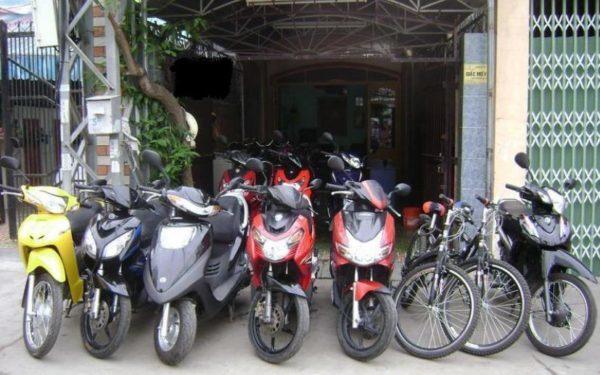 Dịch vụ cho thuê xe máy của công ty TNHH MTV Võ Thuận Thảo