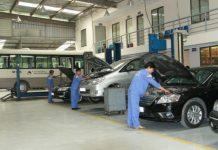 trung tâm chăm sóc xe hơi tại TPHCM