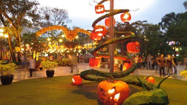 Halloween Công Viên Lê Thị Riêng