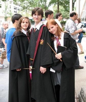 Hóa trang thành Hary Potter chưa bao giờ hết hot