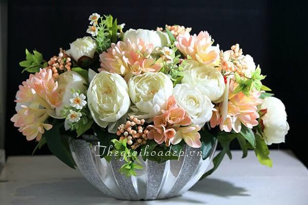 địa chỉ bán hoa giả đẹp tại TPHCM