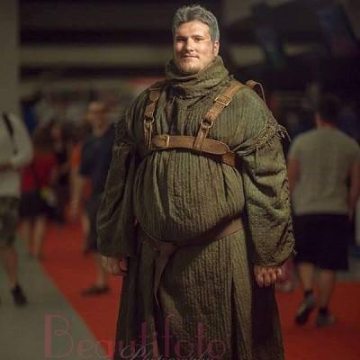 Hóa trang thành chàng béo trong Game of Throne