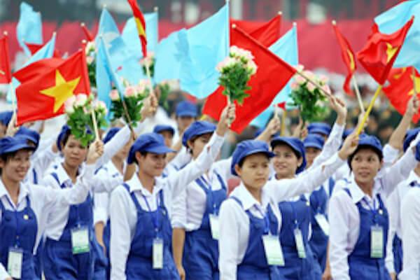 Cả nước sôi nổi kỉ niệm ngày Quốc Tế Lao Động