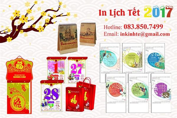 in lịch giá rẻ uy tín ở Hà Nội