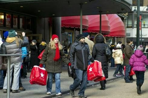Người Mỹ đi mua sắm nhiều nhất vào ngày Black Friday