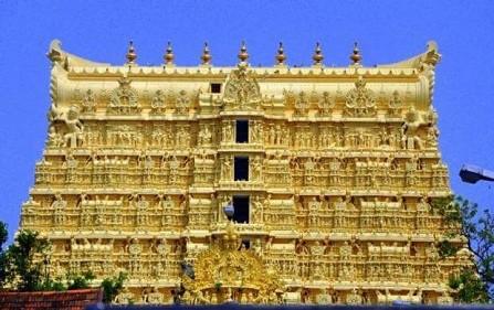 """""""Núi vàng"""" trong đền Sree Padmanabhaswamy"""