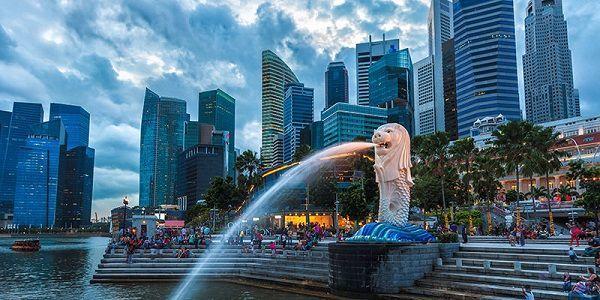 Thành phố Singapore hiện đại