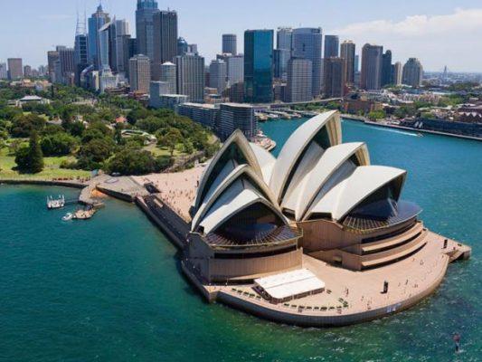 thành phố lớn nhất Australia