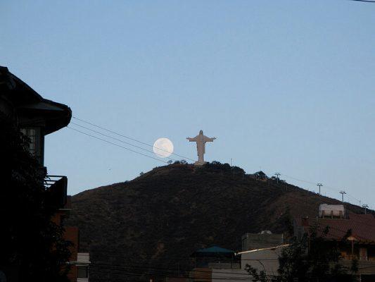 Tượng chúa Kito Vua ở Boliva