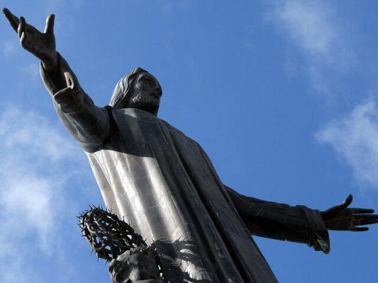 Tượng chúa Kito Vua ở Guanajuato - Mexico