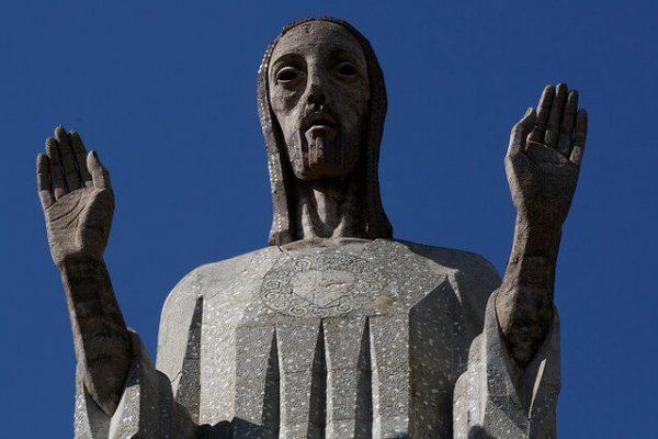 Tượng chúa Kito Vua ở Tây Ban Nha