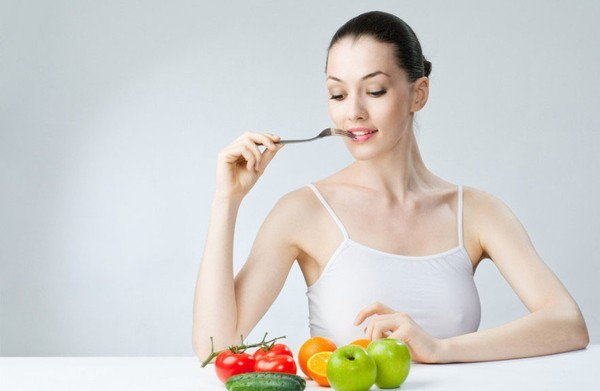 Ăn nhiều trái cây và rau củ
