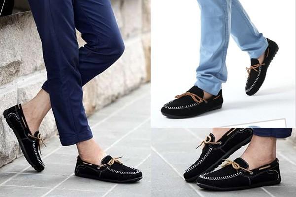 Giày lười đơn giản và tiện lợi