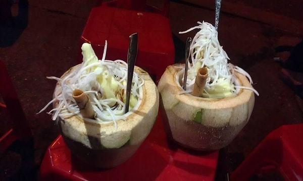 Kem dừa Hàng Thùng