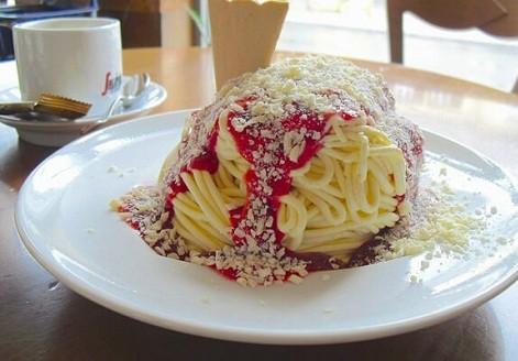 Kem Spaghettieis - Đức
