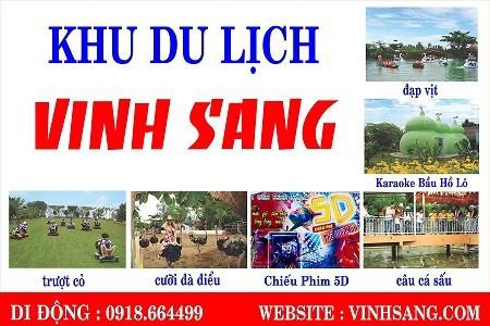 Khu du lịch Vinh Sang – Vĩnh Long