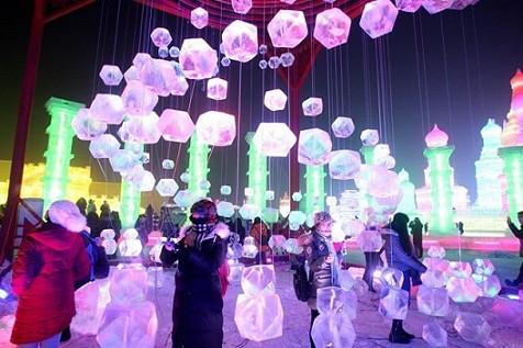 Lễ hội băng đăng quốc tế Cáp Nhĩ Tân - Trung Quốc