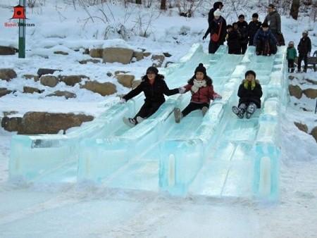 Lễ hội tuyết núi Taebaeksan - Hàn Quốc