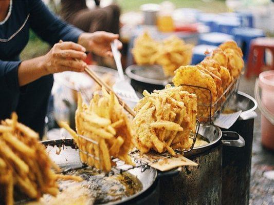 Các loại bánh khoai, bánh chuối, bánh ngô