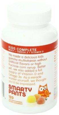 SmartyPants Kids Complete: Multivitamin + Omega 3 + Vitamin D