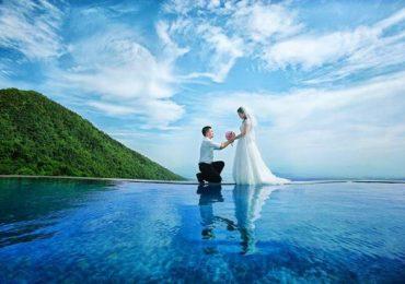 Ảnh cưới tại khu biệt thự Tam Đảo