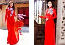 tiệm may áo dài cưới đẹp ở Sài Gòn