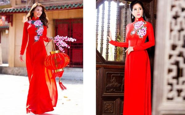 tiệm may áo dài cưới đẹp tại Sài Gòn